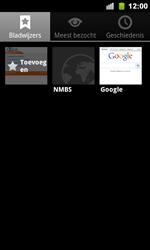 Google Nexus S - Internet - Hoe te internetten - Stap 10