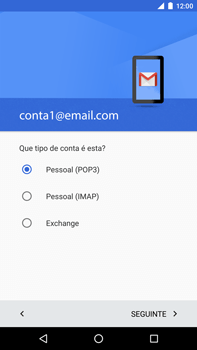 Huawei Google Nexus 6P - Email - Configurar a conta de Email -  13