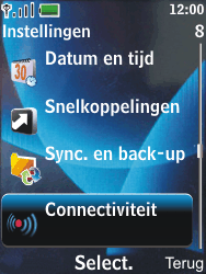 Nokia 6600 slide - Bluetooth - Headset, carkit verbinding - Stap 4