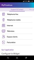 HTC Desire 626 - Applications - MyProximus - Étape 24