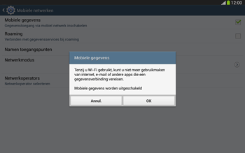 Samsung P5220 Galaxy Tab 3 10-1 LTE - Internet - aan- of uitzetten - Stap 7