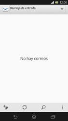 Sony Xperia Z - E-mail - Configurar correo electrónico - Paso 4