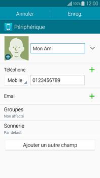 Samsung Galaxy Note 4 - Contact, Appels, SMS/MMS - Ajouter un contact - Étape 10