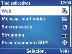 Nokia Asha 302 - Internet - Como configurar seu celular para navegar através de Vivo Internet - Etapa 7