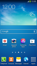 Samsung Galaxy S4 Mini - Applications - Supprimer une application - Étape 1