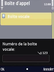 Nokia N86 - Messagerie vocale - Configuration manuelle - Étape 5