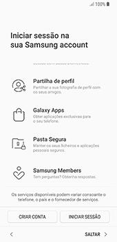 Samsung Galaxy S8 - Android Oreo - Primeiros passos - Como ligar o telemóvel pela primeira vez -  18