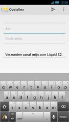 Acer Liquid S2 - E-mail - Hoe te versturen - Stap 5