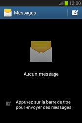 Samsung S6790 Galaxy Fame Lite - SMS - configuration manuelle - Étape 4