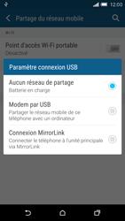 HTC One M9 - Internet et connexion - Utiliser le mode modem par USB - Étape 8