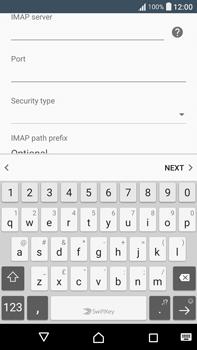 Sony F3211 Xperia XA Ultra - Email - Manual configuration - Step 14