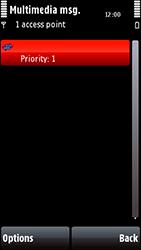 Nokia 5800 Xpress Music - Mms - Manual configuration - Step 13