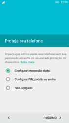 Lenovo Vibe K6 - Primeiros passos - Como ativar seu aparelho - Etapa 10