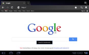Huawei Mediapad S7-301u - Internet - Internet browsing - Step 6