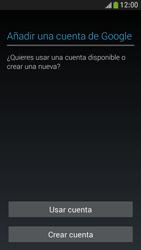 Samsung Galaxy S4 Mini - E-mail - Configurar Gmail - Paso 5