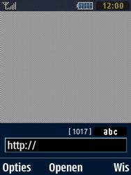 Samsung B2710 Xcover 271 - Internet - Hoe te internetten - Stap 5