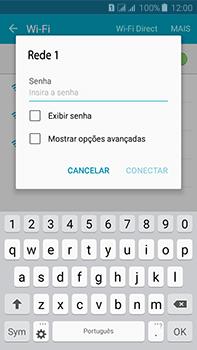 Samsung Galaxy J7 - Wi-Fi - Como configurar uma rede wi fi - Etapa 7