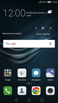 Huawei P9 Plus - Messagerie vocale - configuration manuelle - Étape 3