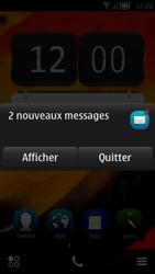 Nokia 700 - Paramètres - Reçus par SMS - Étape 3