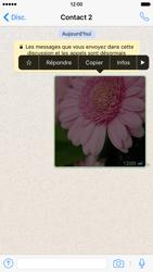 Apple iPhone 6 iOS 9 - WhatsApp - Supprimer les messages instantanés - Étape 7