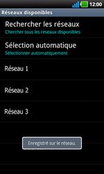 LG P970 Optimus Black - Réseau - utilisation à l'étranger - Étape 13