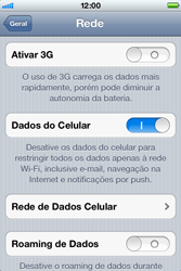 Apple iPhone iOS 5 - Internet (APN) - Como configurar a internet do seu aparelho (APN Nextel) - Etapa 6