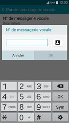 Samsung A300FU Galaxy A3 - Messagerie vocale - configuration manuelle - Étape 10