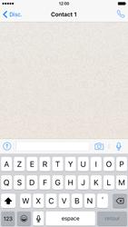 Apple iPhone 6 iOS 9 - WhatsApp - Envoyer des SMS avec WhatsApp - Étape 7
