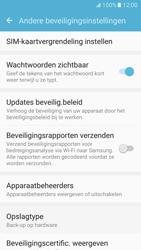 Samsung Galaxy S7 - Beveiliging en ouderlijk toezicht - Pincode simkaart wijzigen - Stap 6