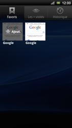 Sony Ericsson Xperia Neo V - Internet - Navigation sur internet - Étape 9