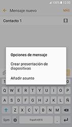 Samsung Galaxy J5 (2016) - Mensajería - Escribir y enviar un mensaje multimedia - Paso 13