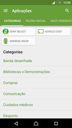 Sony Xperia Z3 Plus - Aplicações - Como pesquisar e instalar aplicações -  6