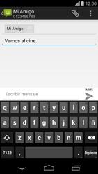 Motorola Moto X (2ª Gen) - Mensajería - Escribir y enviar un mensaje multimedia - Paso 10