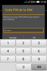 Alcatel OT-4015X Pop C1 - Sécuriser votre mobile - Personnaliser le code PIN de votre carte SIM - Étape 13
