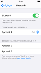 Apple iPhone SE - iOS 13 - Bluetooth - connexion Bluetooth - Étape 8