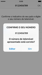 Apple iPhone SE - Aplicações - Como configurar o WhatsApp -  9