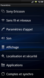 Sony Ericsson Xperia Arc - Internet - Configuration manuelle - Étape 4