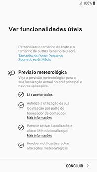 Samsung Galaxy S7 Edge - Android Oreo - Primeiros passos - Como ligar o telemóvel pela primeira vez -  19