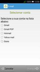Alcatel Pixi 3 - Email - Configurar a conta de Email -  8
