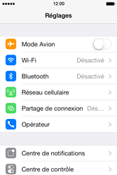 Apple iPhone 4 S - iOS 7 - Internet - Configuration manuelle - Étape 3