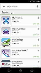 Sony Xperia Z1 Compact D5503 - Applications - MyProximus - Étape 7