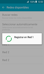 Samsung Galaxy J1 (2016) (J120) - Red - Seleccionar una red - Paso 9