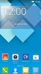 Alcatel OT-5036X Pop C5 - E-mail - Configuration manuelle - Étape 1