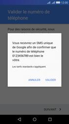 Huawei Y6 - Applications - Créer un compte - Étape 7
