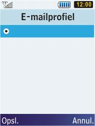 Samsung C3350 Xcover 2 - E-mail - Handmatig instellen - Stap 7