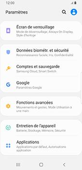 Samsung Galaxy S9 Android Pie - Données - créer une sauvegarde avec votre compte - Étape 4
