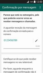Samsung Galaxy Trend 2 Lite - Aplicações - Como configurar o WhatsApp -  8