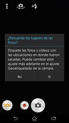 Sony Xperia Z3 - Funciones básicas - Uso de la camára - Paso 4