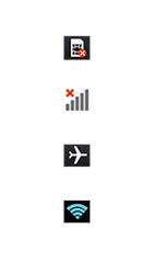 LG Optimus F6 - Premiers pas - Comprendre les icônes affichés - Étape 2