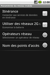 Samsung I5700 Galaxy Spica - MMS - Configuration manuelle - Étape 6